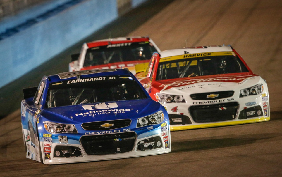 CHEVROLET NASCAR: Earnhardt Jr., Harvick