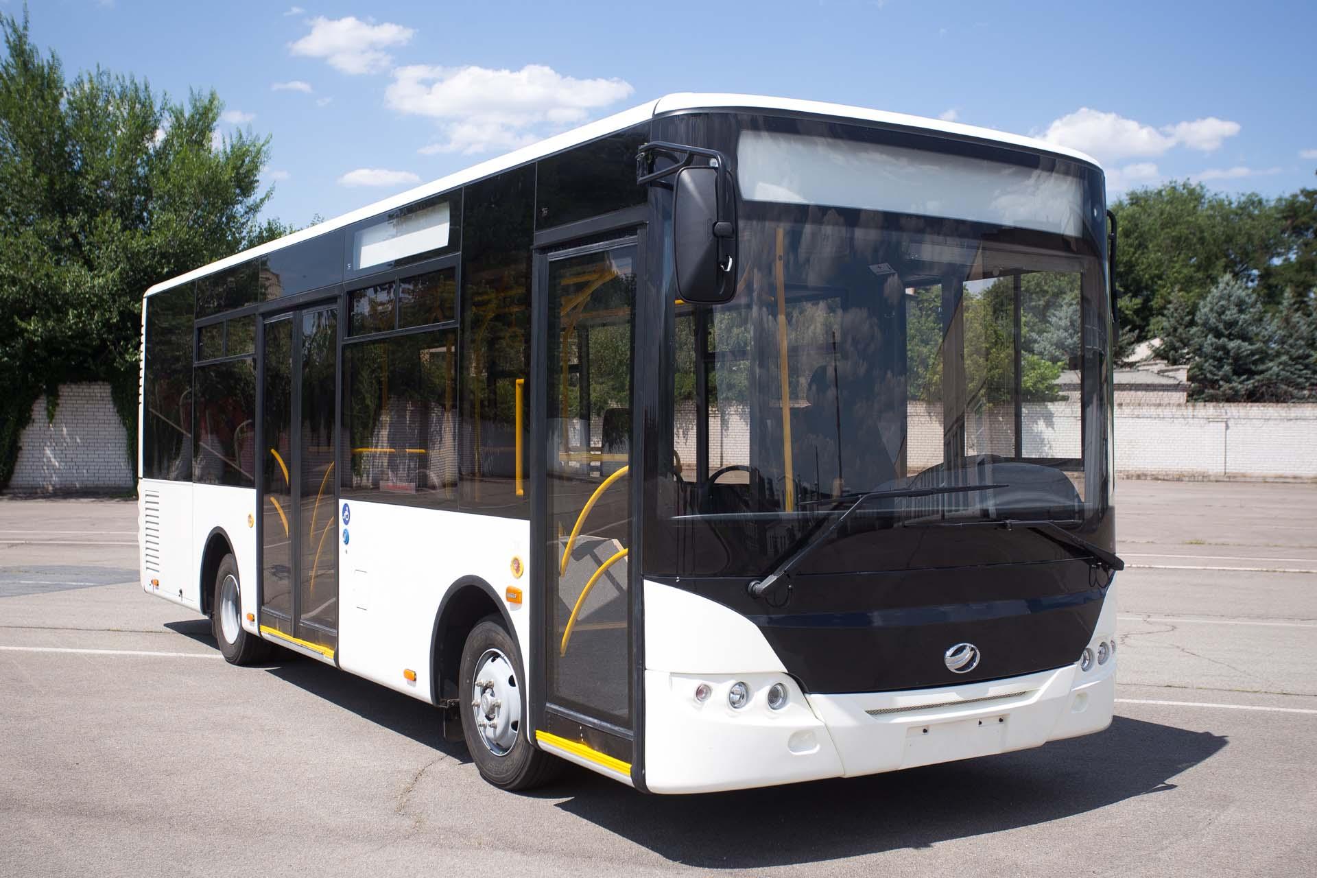 Новая модель городского автобуса А10
